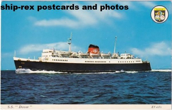DOVER (British Railways) postcard (b2)
